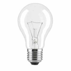 נורת ליבון GE Lighting 25W E27 שקוף