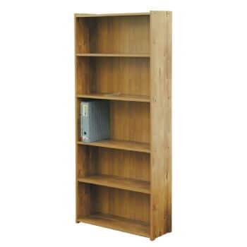 ספריה צרה 5 מדפים דגם 610 רהיטי יראון - צבע שיטה