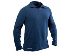 חולצה L שחור חצי רוכסן MFC POLY 28700