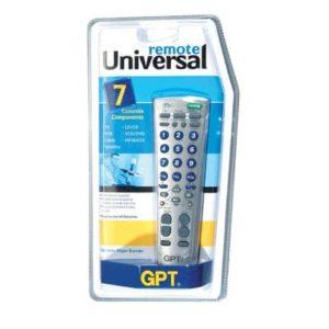 שלט אוניברסלי לטלויזיות GPT דגם RM-788