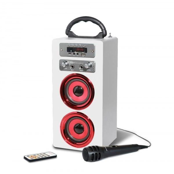 בידורית ניידת pure acoustics דגם MCP-20WR
