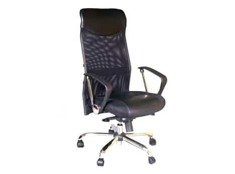 כסא מנהל גבוה עם רשת דגם בר