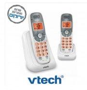 ט.אלחוטי+שלחוה VTEC-6114-2 עברית לבן