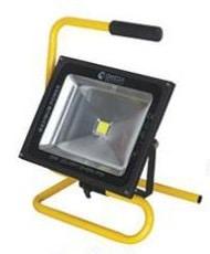 פרוז'קטור נייד 50W+כבל LED-50-H-CW-BK