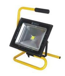 פרוז'קטור נייד 30W+כבל LED-30-H-CW-BK