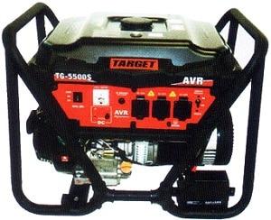 גנרטור 4500W בנזין +סטרטר TG-5500 טרגט