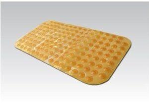 שטיח אמבטיה ספאדיני עם כריות ואקום כחול