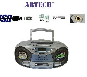 מערכת שמע ניידת Artech CD3821