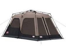 אוהל ל- 8 אנשים נפתח בין רגע COLEMAN