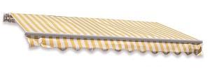 סוכך זרועות 3X4 מטר צהוב/לבן