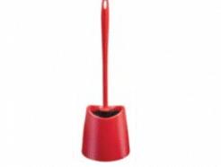 מברשת אסלה פלסטיק אדום SPLASH