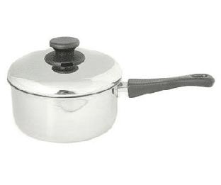 קלחת נירוסטה עם מכסה 1.5 ליטר סדרת גליל Arcosteel