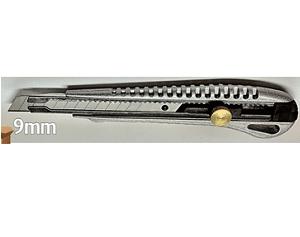 """סכין יפני מתכת 9 מ""""מ HARDWARE"""