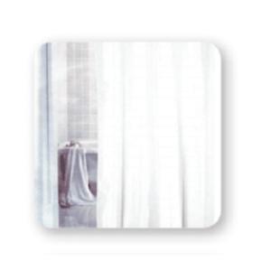 """וילון אמבטיה 1.8X2.4 """"לבן קלאסי"""" SPLASH"""