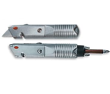 סכין יפני כולל מברג מגנטי עם 6 ביטים HARDWARE