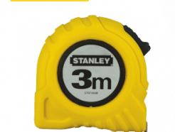 סרט מדידה 3 מטר פלסטיק צהוב STANLEY