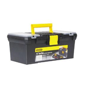 ארגז כלים + אורגנייזר סגר פלסטיק STANLEY