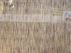 סכך קנים- חוט פשתן 3.3*1.60