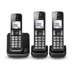 טלפון אלחוטי Panasonic KXTGD313 פנסוניק