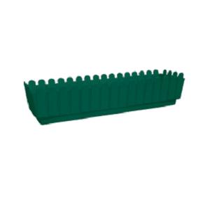 """אדנית גדר 70 ס""""מ ירוק"""