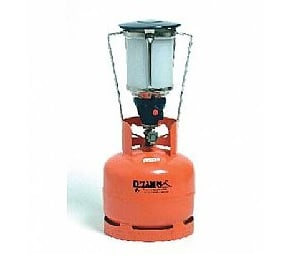 מנורת גז גדולה + הצתה אמגזית
