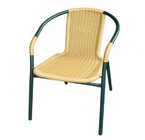 כיסא ביסטרו ראטן בהיר