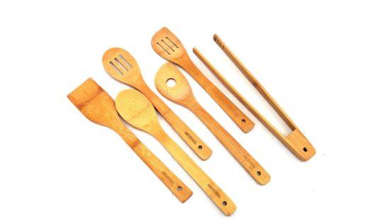 סט כלי במבוק 6 חלקים Arcosteel