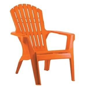כסא בריזה מהאיים הקריביים כתום