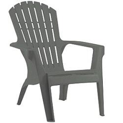 כסא בריזה מהאיים הקריביים אפור