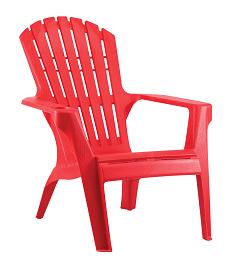 כסא בריזה מהאיים הקריביים אדום