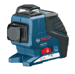פלס היקפי 2 מעגלים + חצובה Bosch GLL280