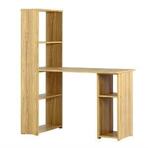שולחן + ספריה דגם 613 אלון