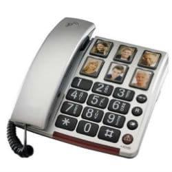 טלפון שולחני מתקדם למבוגרים CARE40 AEG