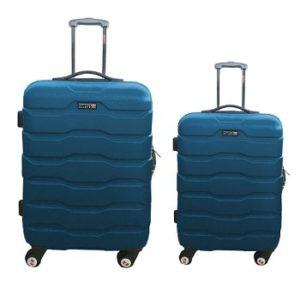 סט 2 מזוודות ABS דגם 1385 SWISS נייבי