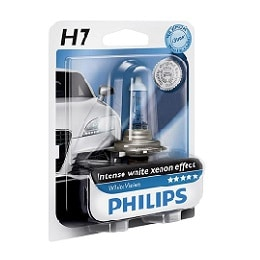 נורה PHILIPS H7 WHITEVISIO