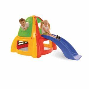 בית ילדים + מגלשה Starplast 32984