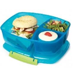 קופסאת אחסון לארוחה + 2 תאים קטנים SISTEMA