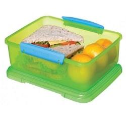 קופסאת אוכל מלבנית 2 ליטר SISTEMA