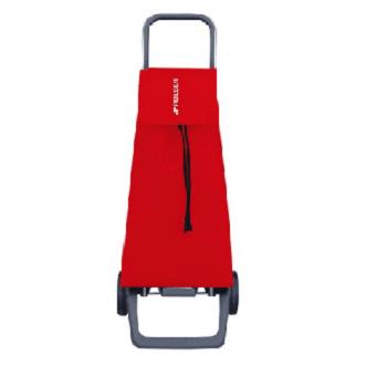 עגלת קניות סדרת JOY מבית ROLSER - אדום חלק