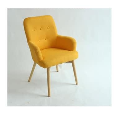 כורסא דגם לימור צהובה