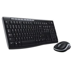 מקלדת ועכבר Logitech Wireless Combo MK270