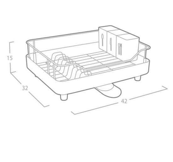 מתקן חכם לייבוש כלים מבית OLIVIER דגם 2002