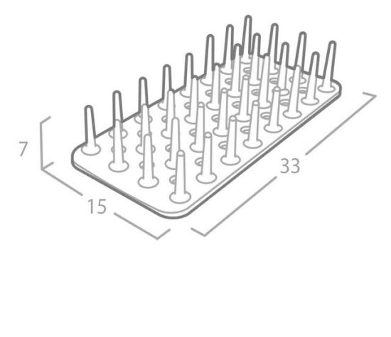 משטח בריאותי לייבוש כלים מבית OLIVIER