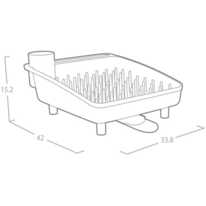 מתקן בריאותי לייבוש כלים מבית OLIVIER תוצרתדגם 2038