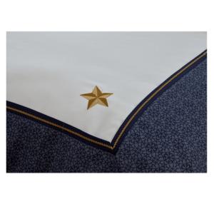 סט מצעים זוגי מיוחד סדרת גלוריה - דגם אדמירל HOMESTYLE