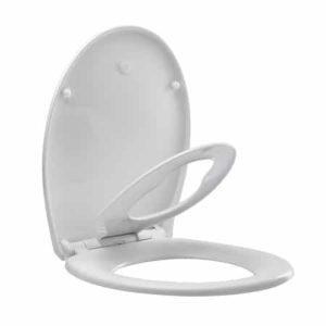 מושב אסלה הידראולי משפחתי סביון ATMOR - לבן