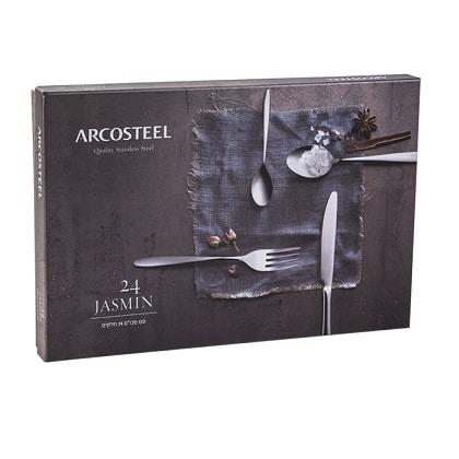 """סט סכו""""ם 24 דגם יסמין Arcosteel"""