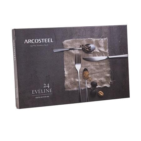 """סט סכו""""ם 24 דגם אוולין Arcosteel"""