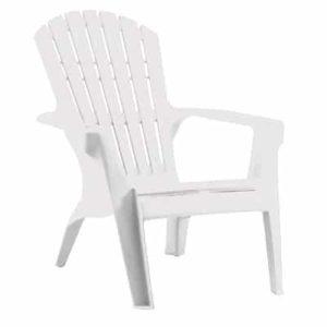 כסא בריזה מהאיים הקריביים לבן