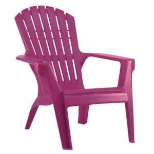 כסא בריזה מהאיים הקריביים סגול